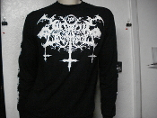 SATANIC WARMASTER, logo (black metal)   SML  004